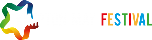May Festival Logo - horizontal - white lettering